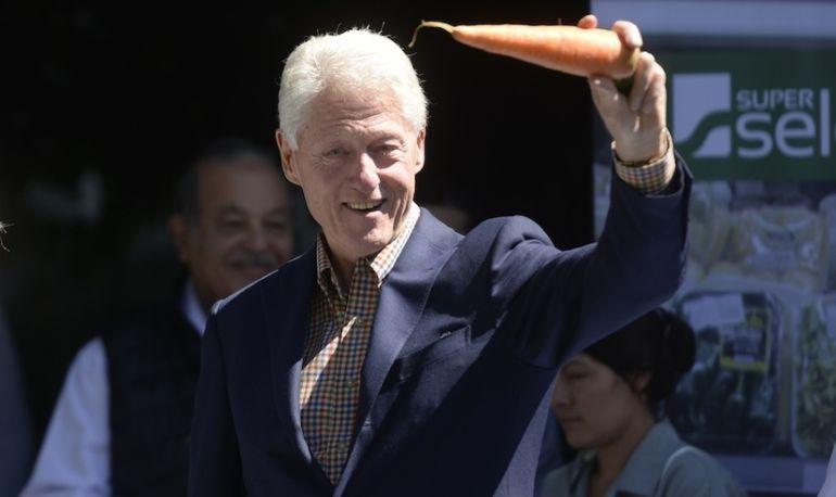 Bill Clinton Says Going Vegan Saved His Life Hero Image