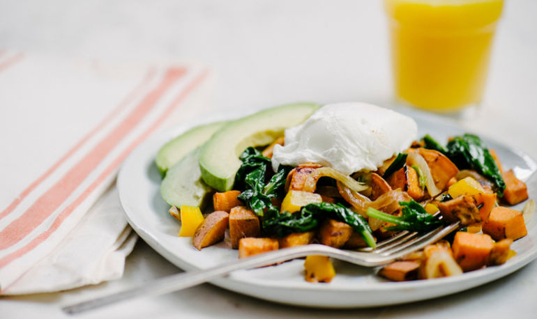 Breakfast For Dinner: Sweet Potato Vegetable Hash Hero Image