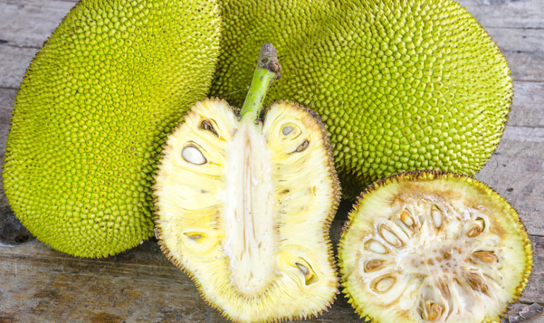 Jackfruit: What It Is + Why You're Going To Want To Eat It All Summer Hero Image