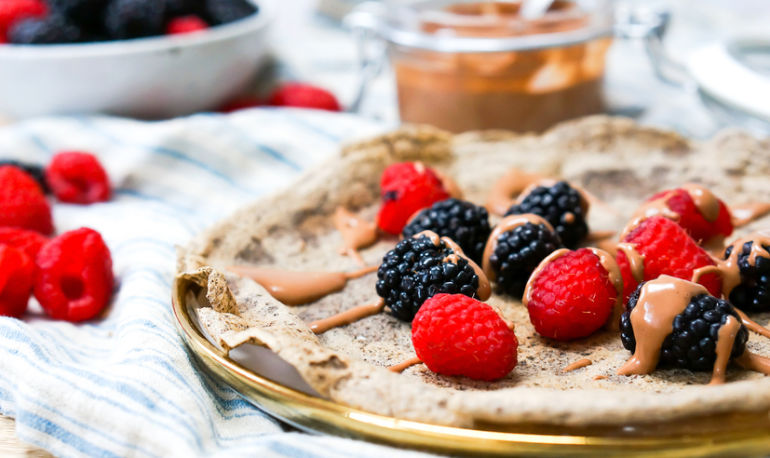 Be The Weekend MVP With These Gluten-Free Buckwheat Crepes Hero Image