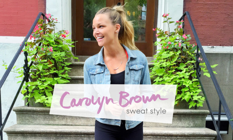 Sweat Style: This Is What Nutritionist Carolyn Brown Wears To Work Out Hero Image
