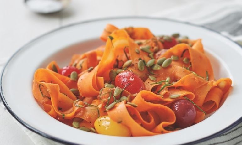 Eat Clean With This Carrot Fettuccine Hero Image