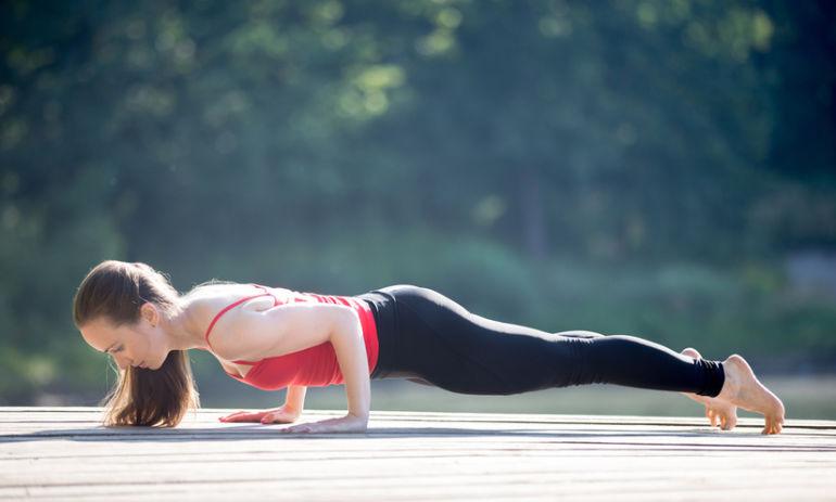 5 Steps For A Stronger Chaturanga Pose Hero Image