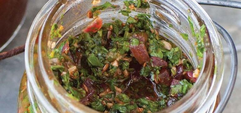 Spice Up Your Life With This Zesty North African Herb Sauce! Hero Image