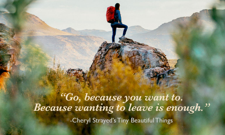 Happy Birthday, Cheryl Strayed! 15 Of Her Greatest Quotes To Inspire You Hero Image