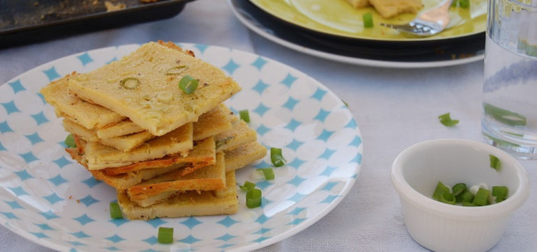 Perfect Vegan Brunch: Savory Chickpea Crepes Hero Image