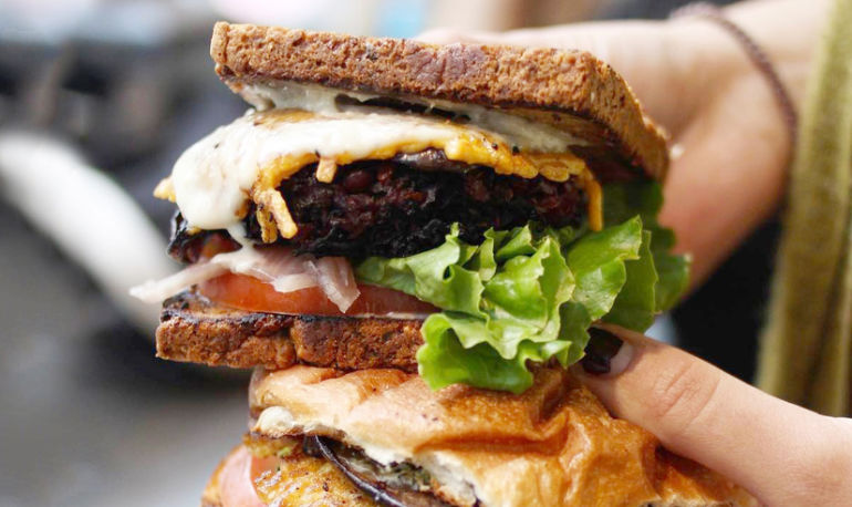 Finally: The Secret To Making A Veggie Burger That Doesn't Suck Hero Image