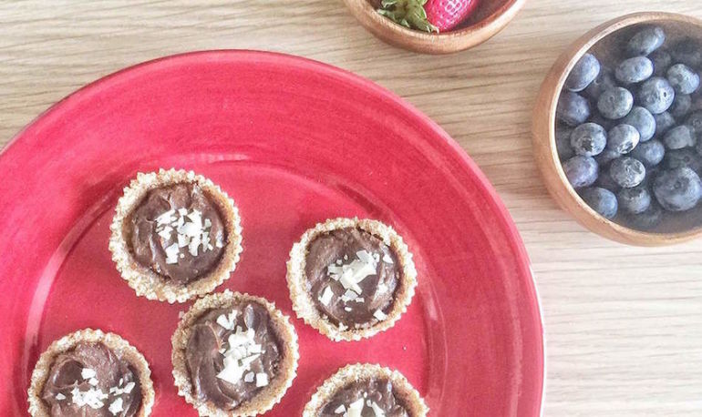 A Carob Tart That Will Make You Forget All About Chocolate Hero Image