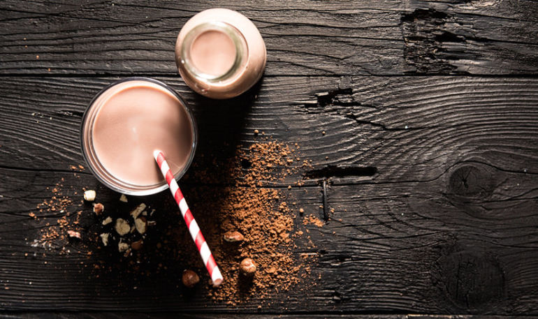 Chocolate Hazelnut Milk + 3 Other Nut Milks You Need To Try Now Hero Image