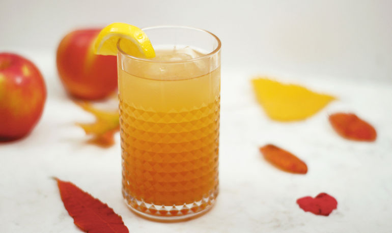 Ginger Cider Spritz That Gets Its Kick From Kombucha Hero Image