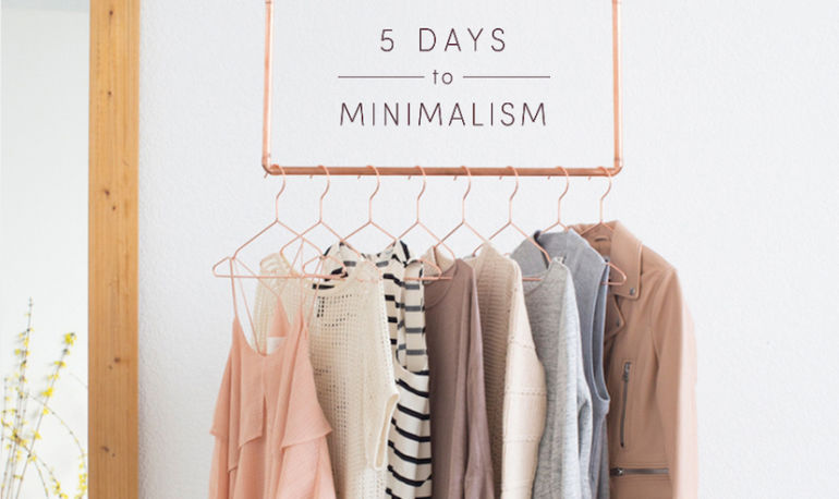 How To Give Your Closet The Ultimate Minimalist Makeover Hero Image