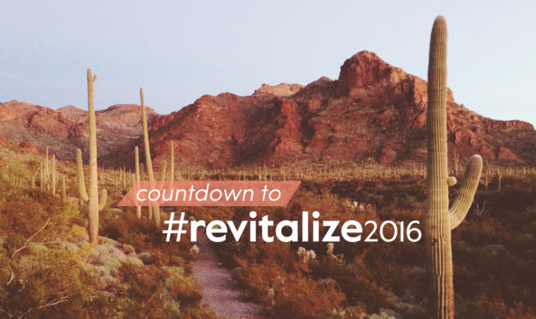 #revitalize2016 Is Only A Few Days Away: Here Are A Few Exciting Things You Need To Know About Hero Image