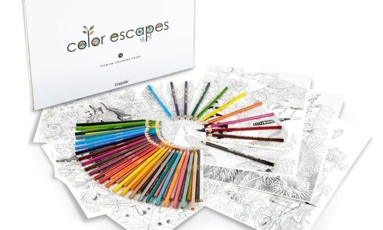 Crayola Is Launching Its Own Line Of Adult Coloring Books Hero Image