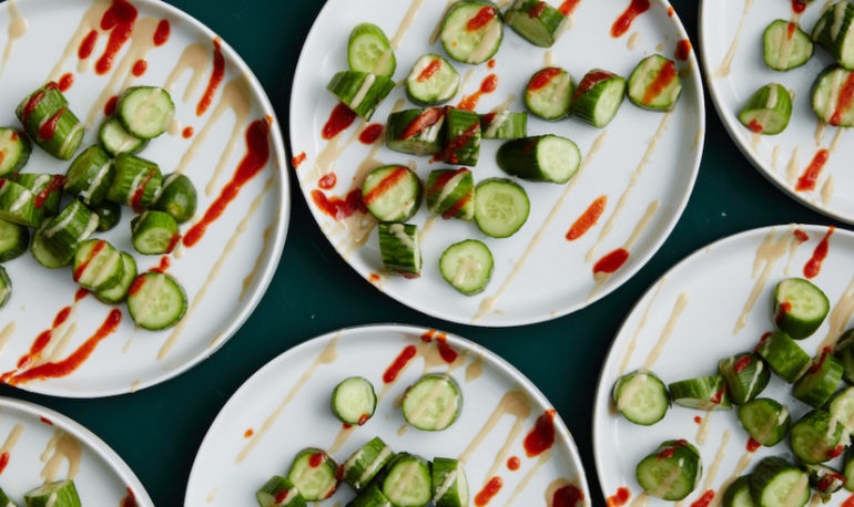 A Cooling Cucumber Salad You'll Want To Make Again & Again Hero Image