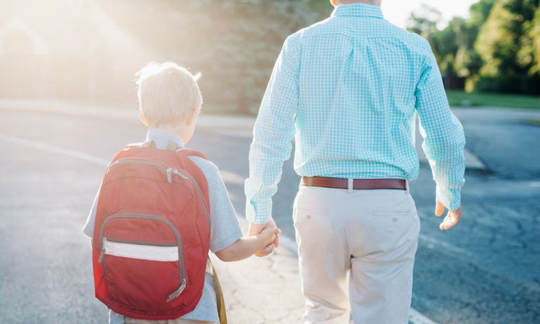 5 Ways To Help Your Child Go Back To School, Stress-Free Hero Image