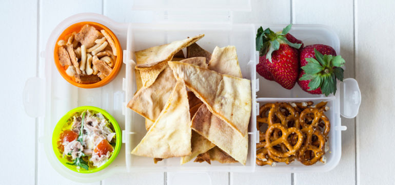 10 Super-Healthy, Dairy-Free Snack Ideas For Kids Hero Image
