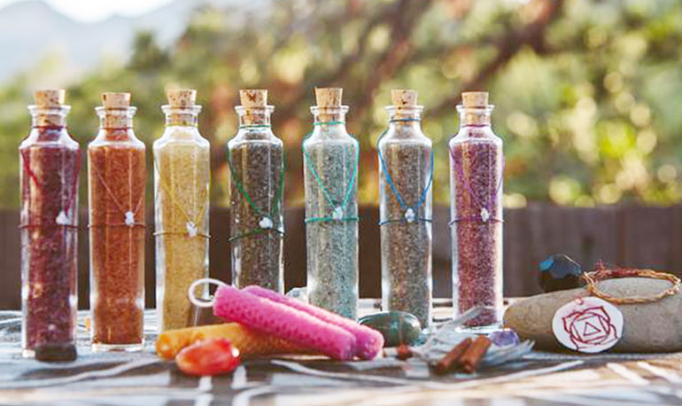 A Gemstone Bath To Balance Your Chakras & Soothe Your Skin Hero Image