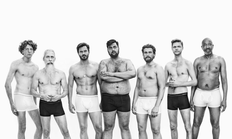 "This New Ad Campaign Shows Us What The ""Perfect"" Man Really Looks Like Hero Image"