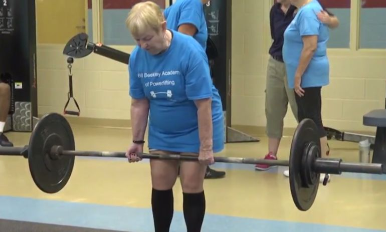 This 94-Year-Old Grandmother Is A Champion Powerlifter Hero Image