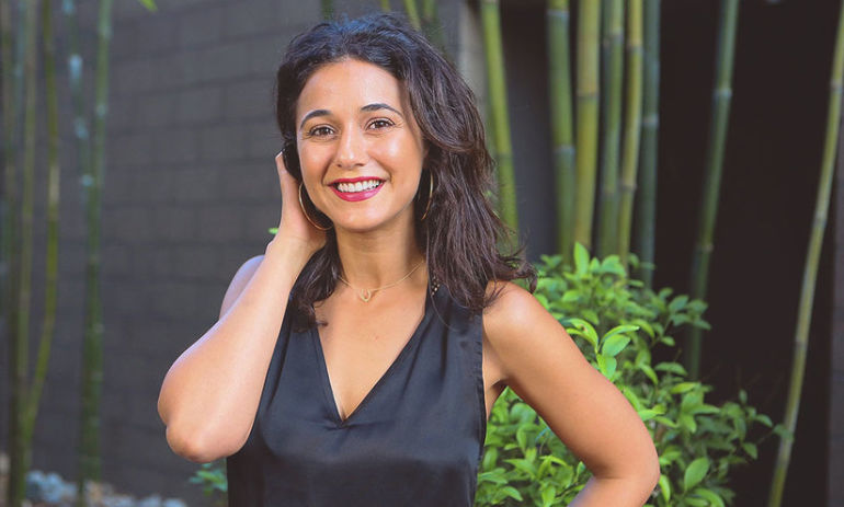 Emmanuelle Chriqui On Her Favorite Holistic Treatments And #Wellth Hero Image
