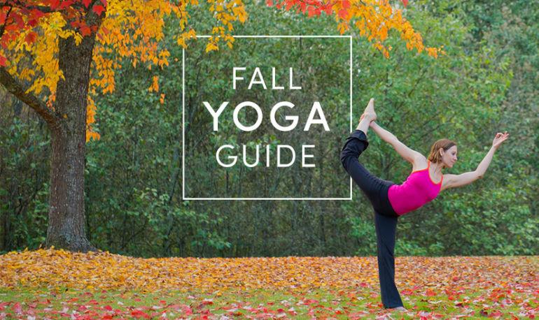 The Ultimate Fall Yoga Guide Hero Image