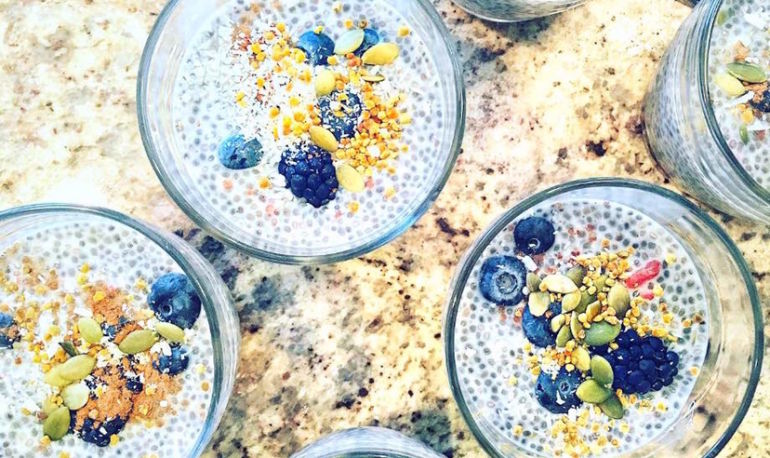 A Delicious Chia Pudding Recipe To Balance Your Hormones Hero Image