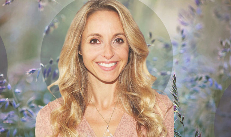 Gabby Bernstein On Dealing With Stress, What She Would Tell Her Younger Self, And #Wellth Hero Image