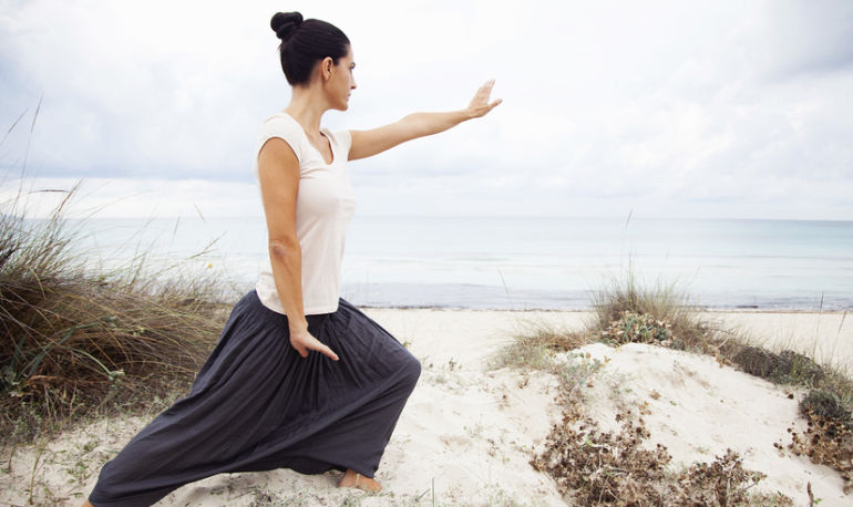 How To Use This Mindful Movement Exercise To Bust Stress & Recreate Your Life Hero Image