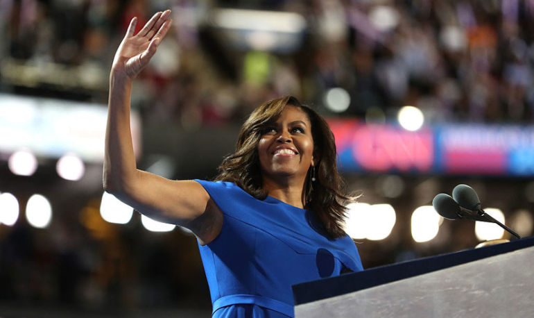 Here's What Michelle Obama's Workout Routine Looks Like Now Hero Image