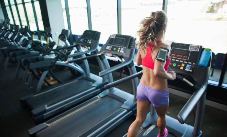 A 30-Minute Treadmill Workout Guaranteed To Make You Sweat Hero Image