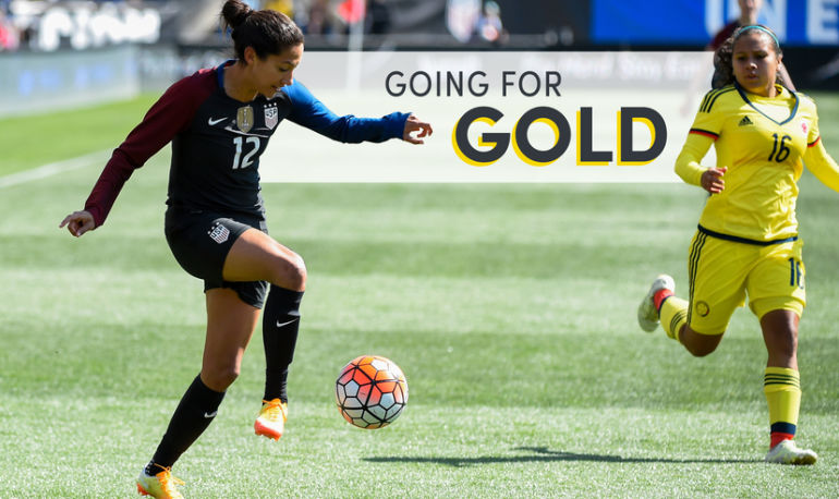 How An Olympic Soccer Star Is Prepping Her Body & Mind For The Games Hero Image