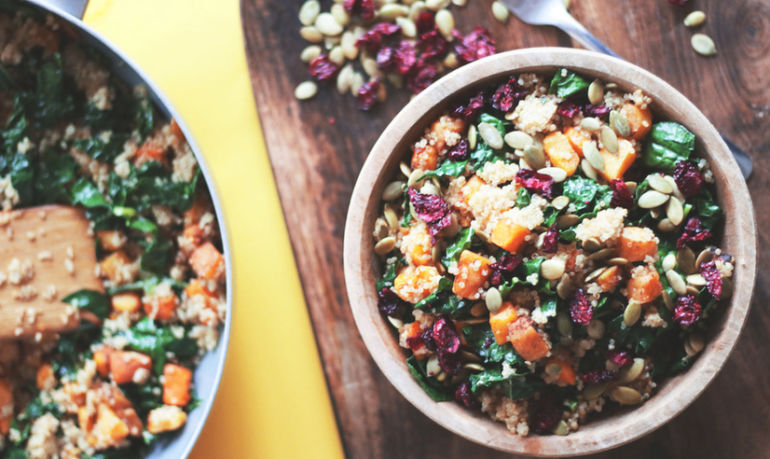 The Ultimate Vegan Harvest Quinoa Bowl Hero Image