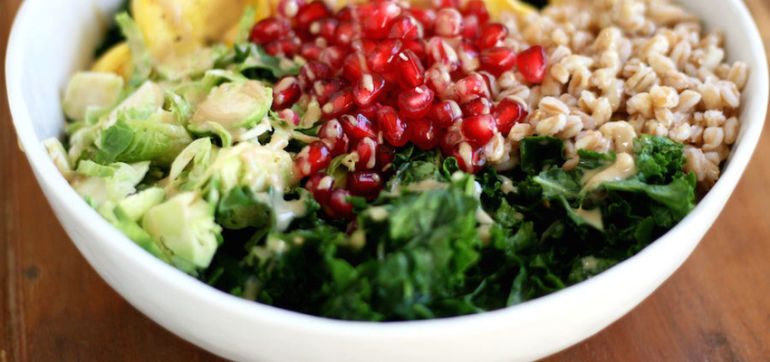 Autumn Harvest Bowl With Maple Tahini Dressing Hero Image
