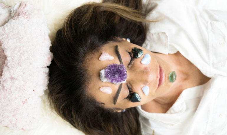 Gem Masks, Jade Rolling + Adaptogenic Beauty Dusts For Sparkly Skin Hero Image