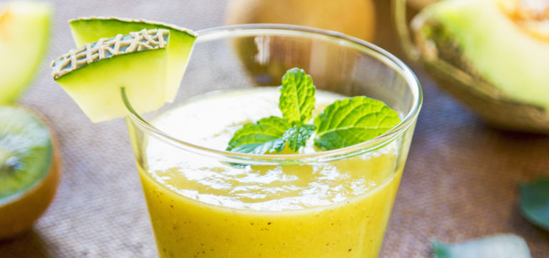 Sweet & Fresh: Honeydew-Mint Smoothie Hero Image