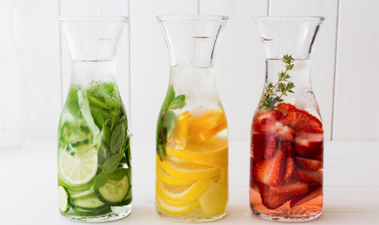 Turn Your Water Into A Tonic With These 5 Simple Recipes Hero Image