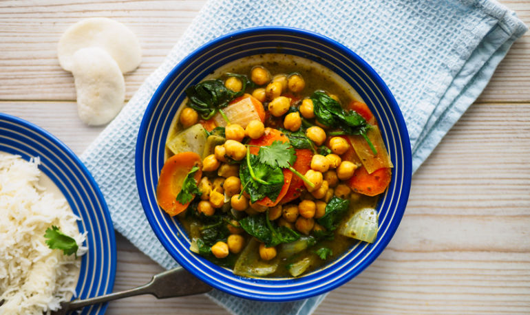 A Healing Chickpea Curry Recipe From A Vegan Restaurateur Hero Image