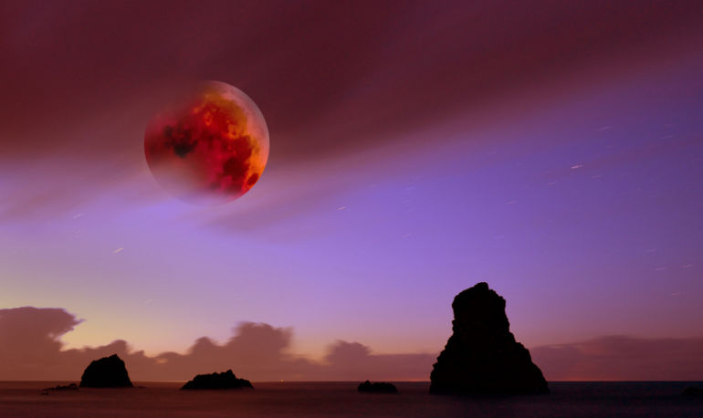 This Aquarius Full Moon Is Also A Lunar Eclipse: Here's What It Means For You Hero Image