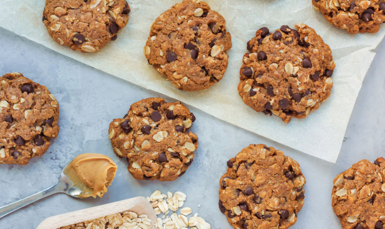 Meet The Protein-Packed Chocolate Chip Cookie You Can Eat For Breakfast Hero Image