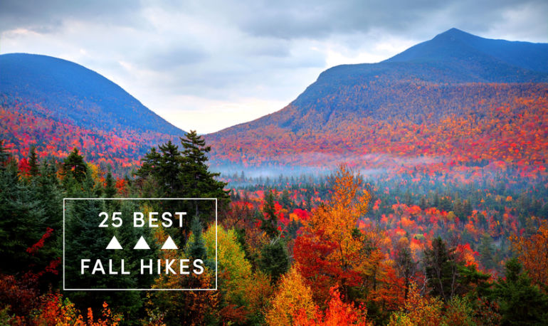 These Are The 25 Best Fall Hikes In The United States Hero Image
