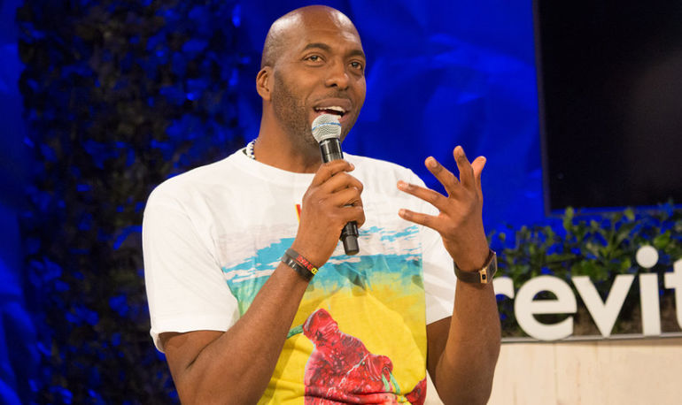 Vegan NBA Champion John Salley On The Advice He'd Give His Younger Self And #Wellth Hero Image