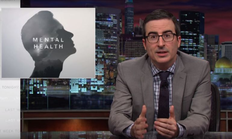 "John Oliver: After A Mass Shooting Is ""The Worst Time To Talk About Mental Health"" Hero Image"