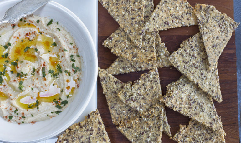 Foolproof Gluten-Free Seeded Crackers You Can Make Yourself Hero Image