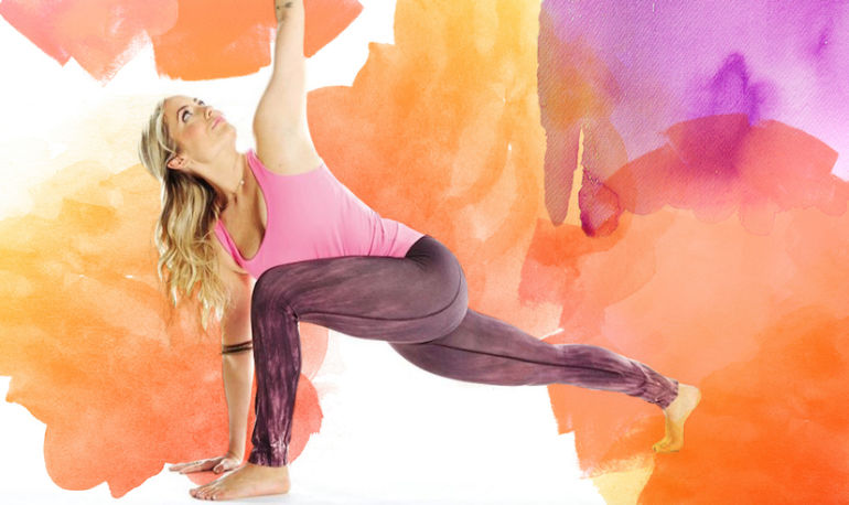 An Energizing Yoga Sequence To Start Your Week Off Right Hero Image