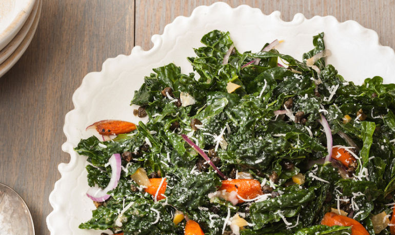 Kathryn Budig's Ultimate Kale Salad Hero Image
