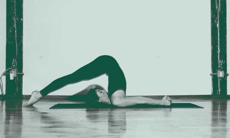 This Yoga Pose Will Bring Calmness To Your Day Hero Image