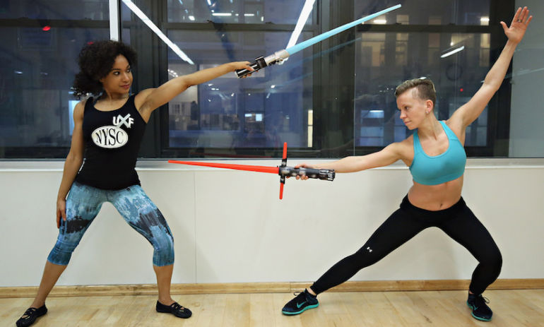 Lightsaber Fitness Classes Are Now A Thing Hero Image