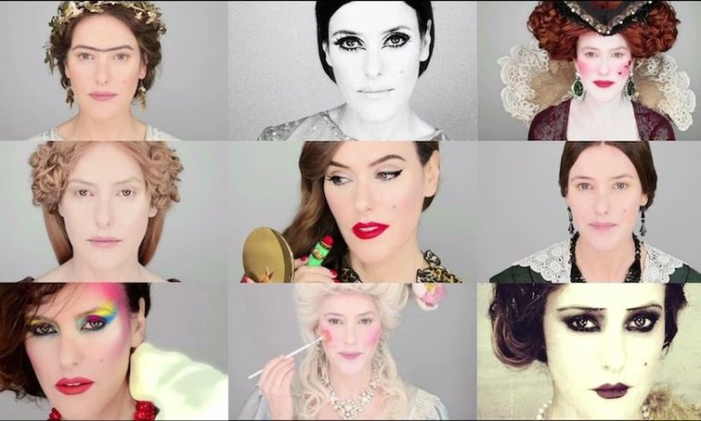 Watch How Much Makeup Trends Have Evolved Throughout History Hero Image