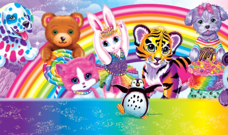 Great News 90s Babies Lisa Frank Adult Coloring Books Are Coming Hero Image
