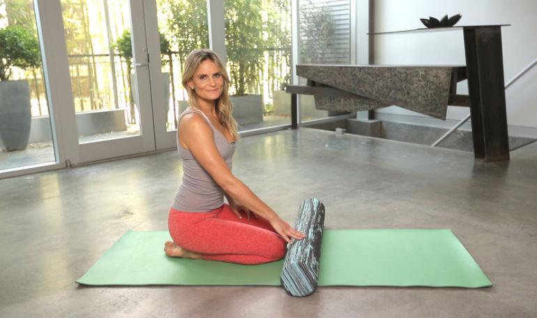 Can't Sleep? Try This Foam Rolling Routine Hero Image